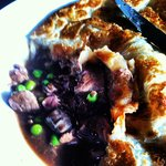 Inside the Beef and Guinness pie