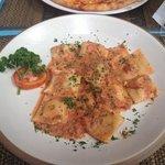 Ravioli al Profumo di Mare in Salsa Rosa