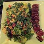 Seared Ahi Tuna Salad at the Daily Grill