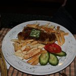 Steak and pomfrit.