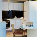Kitchen in room