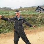 Our wonderful Sa Pa guide, Nam