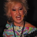 The entertainment is amazing!! Tobi Lee of Mustang Sally!!