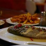 steamed fish - tatsted great