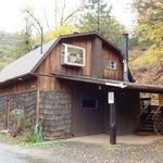 The Barn studio outside