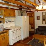 Barn studio kitchen