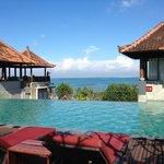 pool - great views no shade though