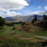 #18 tee box at Arrowtown GC