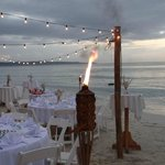 Wedding Recepton on the beach