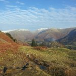 A fantastic day on the fells above the hostel
