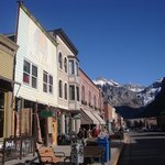 Main Street of Telluride , Brown Dog on the Right !!!