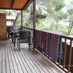 Terraza y vistas del porche