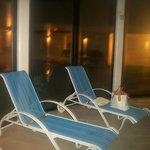 la piscine le soir du 31