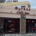 Il bar del Mysthos beach
