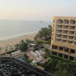 Room 516's view of Juhu Beach