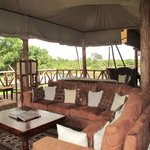 A great place to relax after a day of game drives