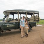 Our safari vehicle for our stay!