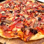 Meat pizza