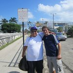 Adam and Luis in Belize City