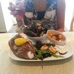 Kilcreggan Cafe- Shellfish platter special.