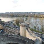 Panorama e ponte di Avignon