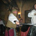Swords fight