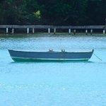 Boot in der Bucht