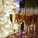 Enjoy a glass of champagne at the casino