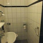 Bathroom 1 (toilet & sink)