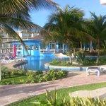 Premium pool and Caribbean restaurant