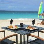 World Class Dining on Meads Bay Beach