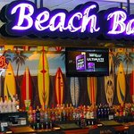 The Beach Bar has great daily specials