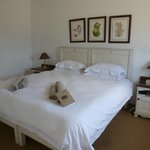 Main bedroom in Steenbok cottage for 4-5 people
