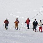 Descente en raquettes du coté du Pic du Midi