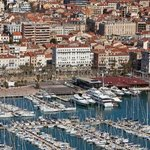 day view of Cannes