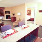 Extended Suite with Fireplace and Kitchenette