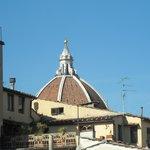 Cupola del Brunelleschi vista dalla camera