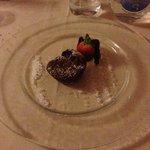 tortino con cuore caldo di cioccolato
