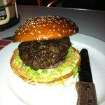 broodje hamburger bij Moses