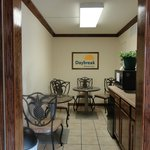 New Breakfast Seating Area