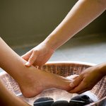 Spa Pedicure Foot Massage