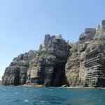 Cliffs off Jervis bay