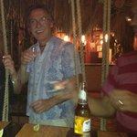 Swings at a bar = endless fun