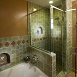 Soaking Tub and Glass Shower's
