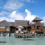 Immense water villa