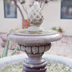 Fountain in courtyrad