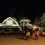 Ore House decorated for the holidays