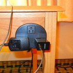 Desk outlet