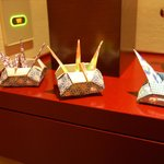 Cranes that came with room service