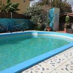 Preciosa piscina, no tuve oportunidad de disfrutarla